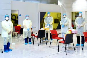 Emirates becomes first airline to conduct on-site rapid COVID-19 tests for passengers