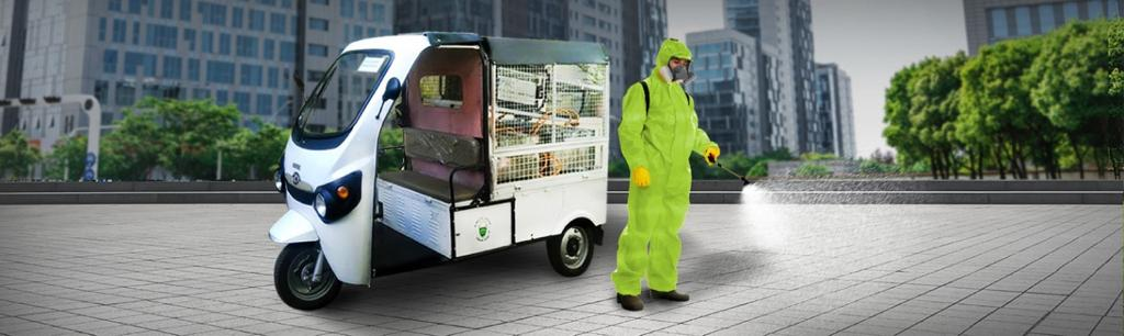 Kinetic introduces range of fogging and spraying e-vehicles to help create a germ-free India