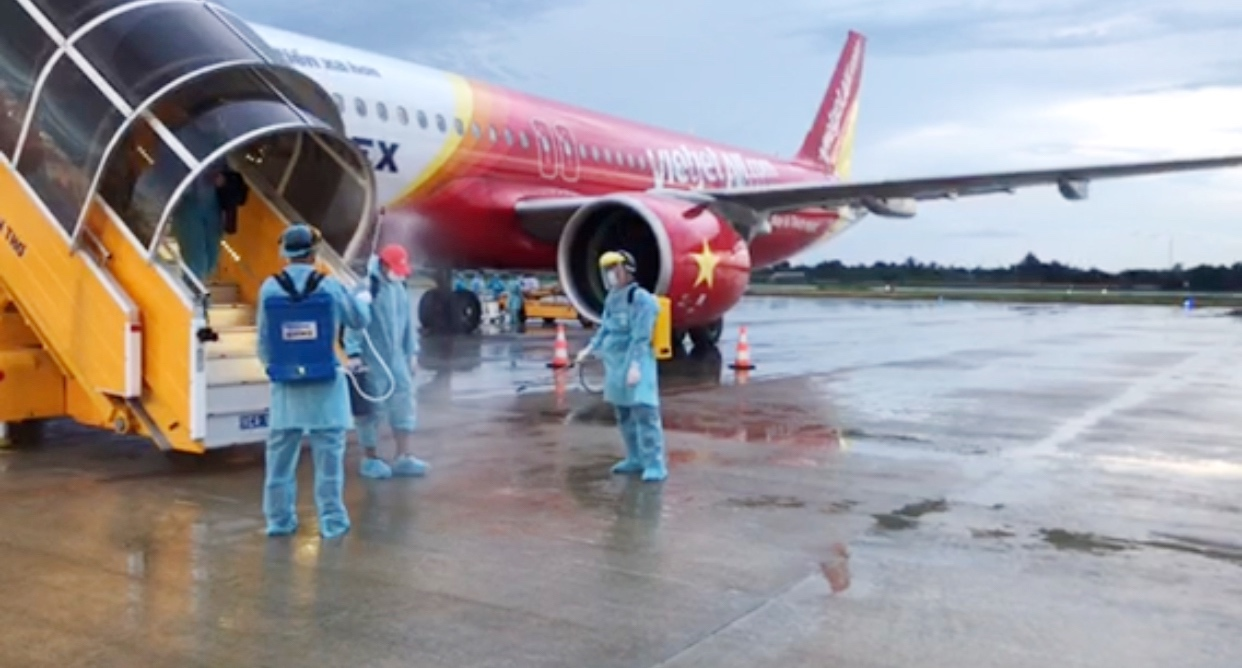Vietjet continues to conduct repatriation flights, paving its way  for international services' resumption