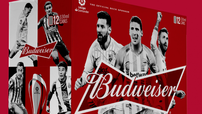 Budweiser 0.0 Brings Home The Trophy To Celebrate Liverpool FC's Premier League Win With Fans