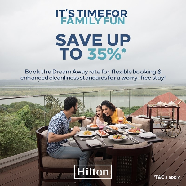 Hilton invites Travellers to Dream Away with its limited time offer