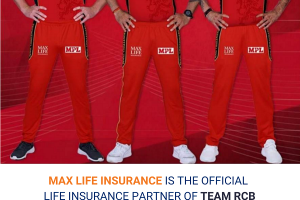 Max Life Insurance strengthens partnership with Royal Challengers Bangalore for IPL 2020