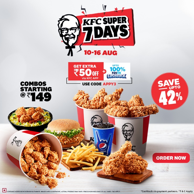 The KFC Super 7 Days Are Here