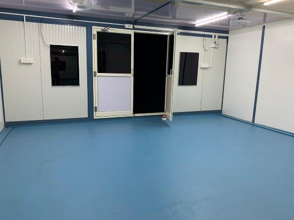 Portable hospital infrastructure for Covid -19