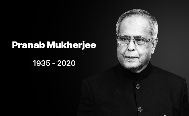 Central Government announces seven-day nationwide mourning on demise of former president late Shri Pranab Mukherjee