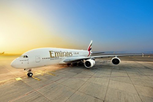 Emirates welcomes its first of three A380s to be delivered in December