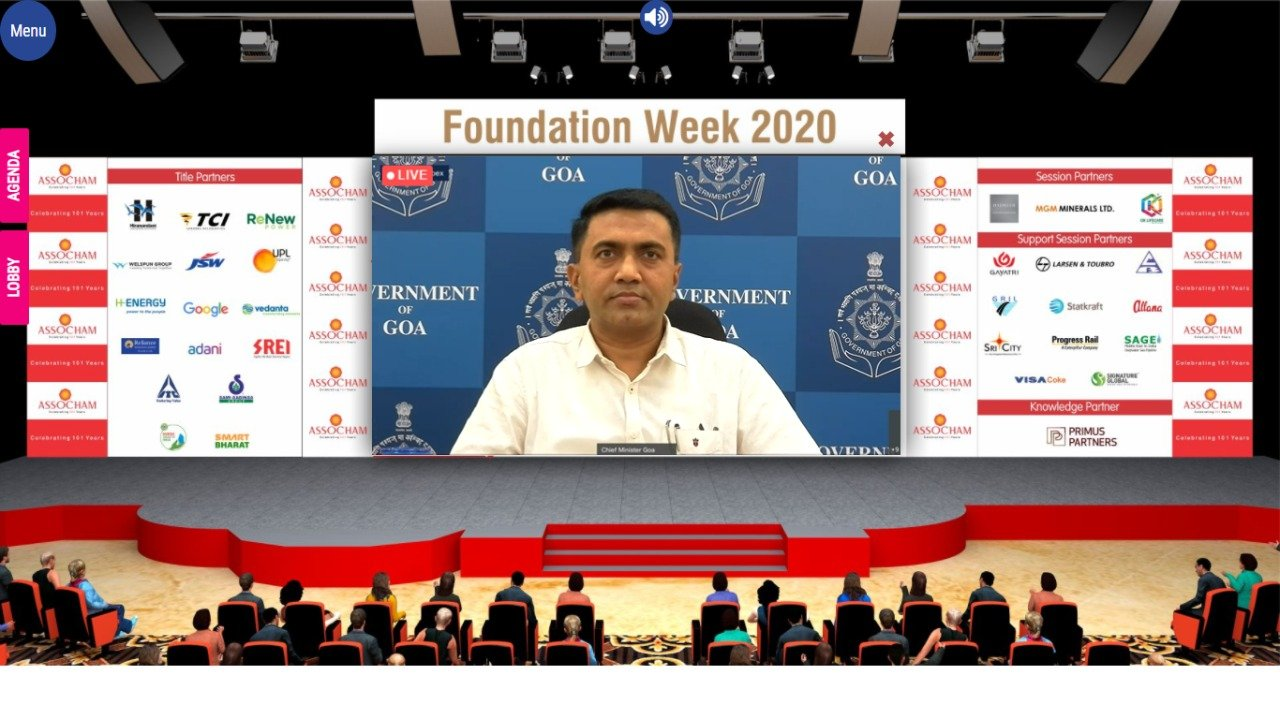 GOA has the potential to become a big investment destination: GOA Chief Minister