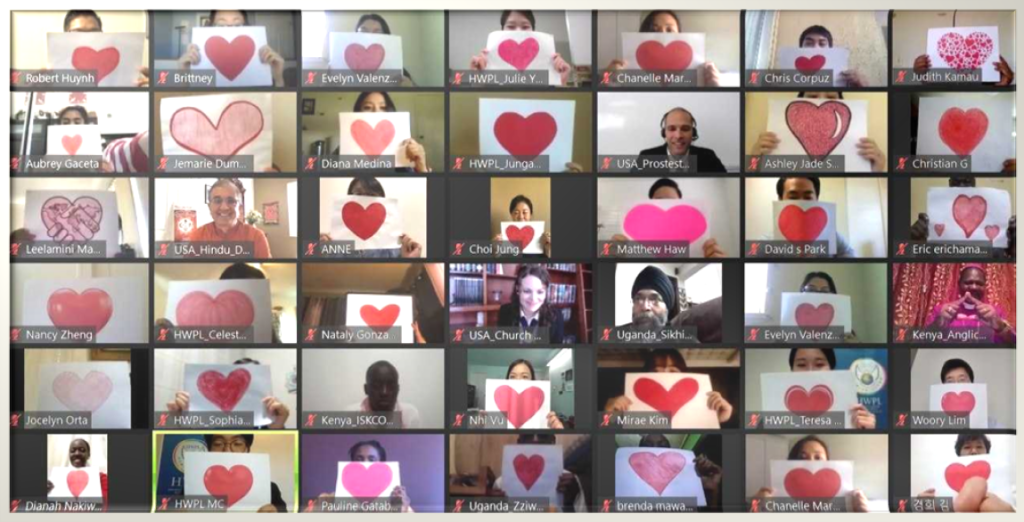 HWPL Members Practicing Love, Peace, and Freedom for the End of COVID-19