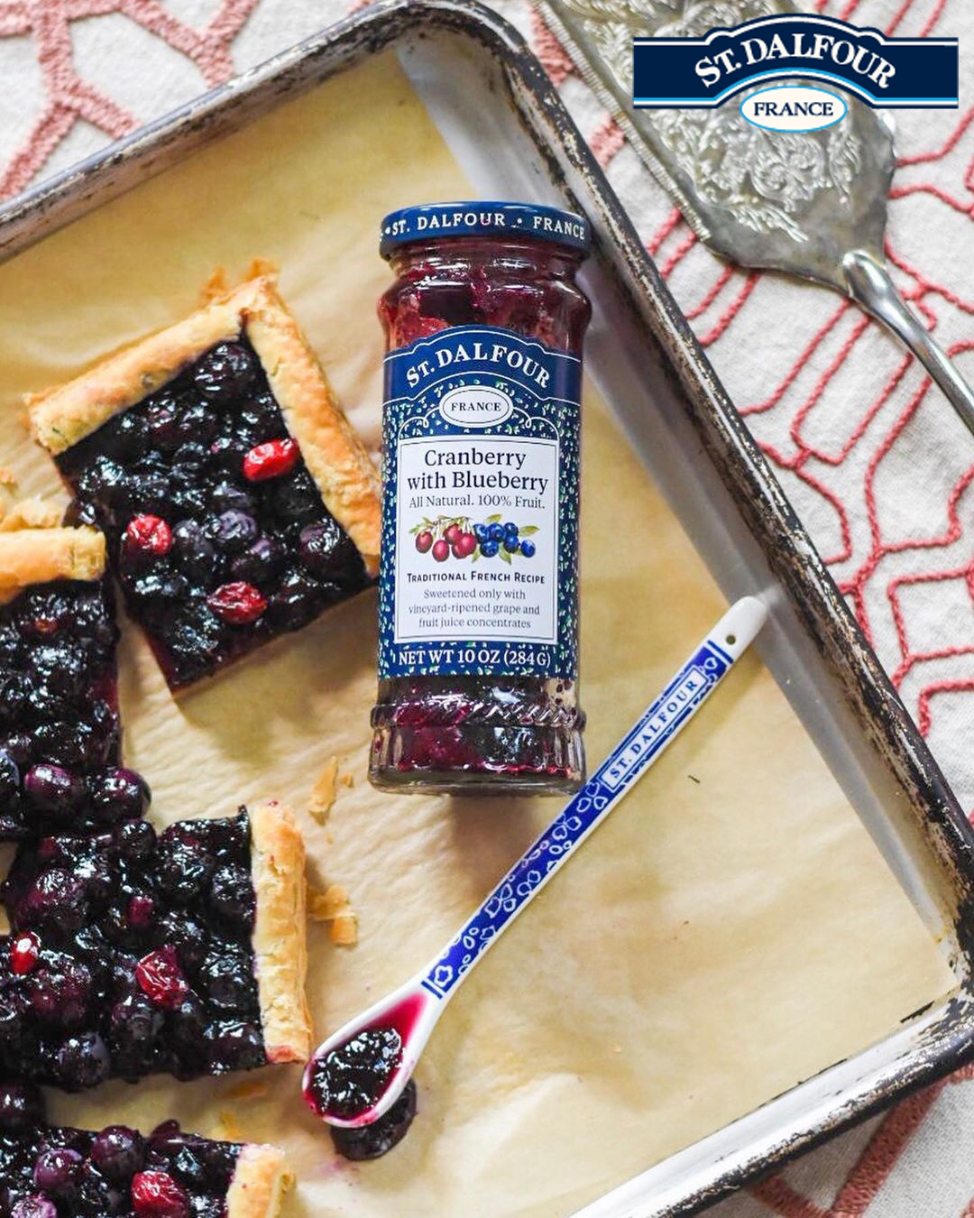 All-Natural French Fruit Preserve Range from St. Dalfour