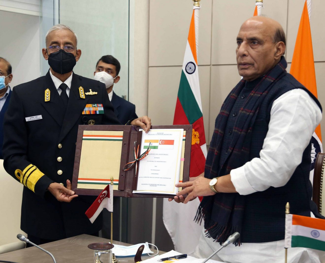 India-Singapore Defence Ministers Dialogue