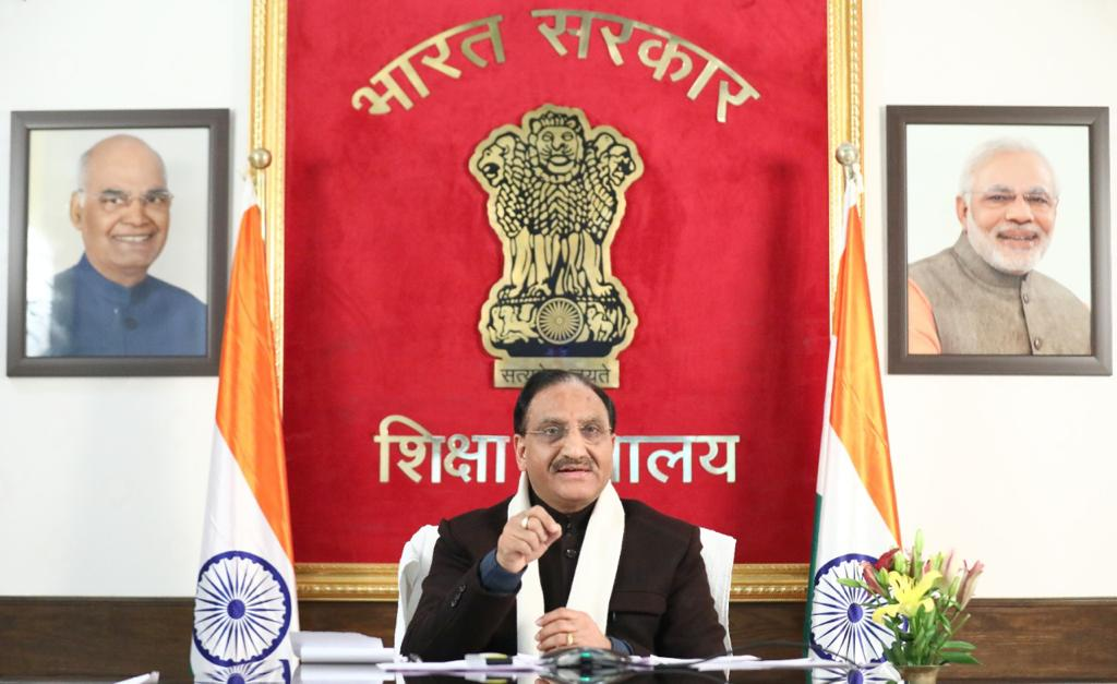Union Education Minister reviews implementation of New Education Policy- 2020