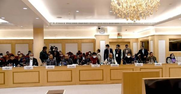 8th round of talks between Government and Farmers Unions held in Vigyan Bhawan, New Delhi
