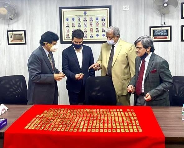 DRI seizes 55.61 kg of foreign gold worth Rs 28 crore