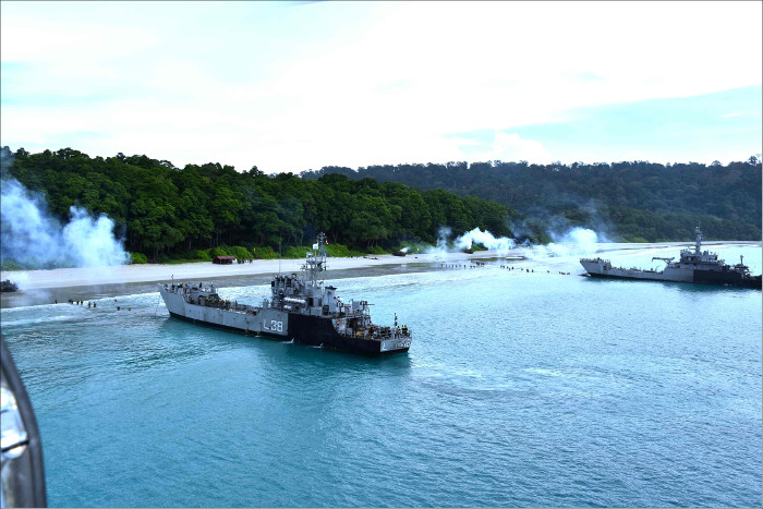 Training for Joint Operation in Andaman Sea