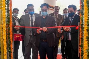 Sports Minister Kiren Rijiju inaugurates 162 bed hostel