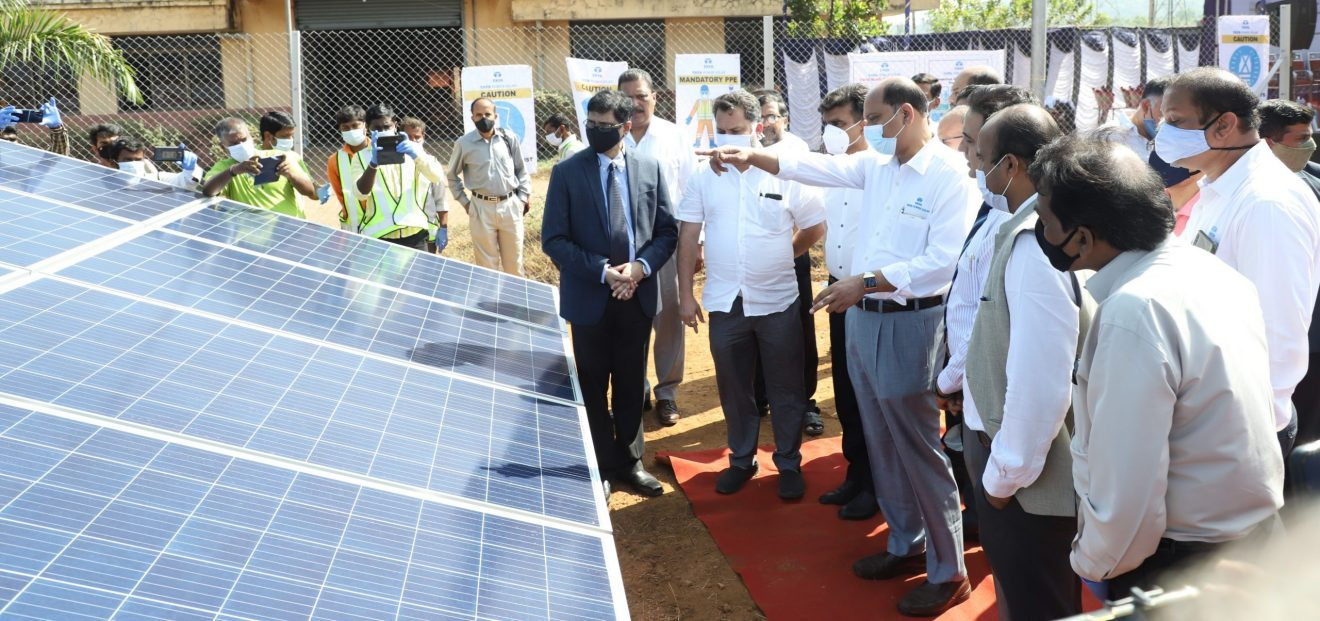 1 MW of Goa's first solar project
