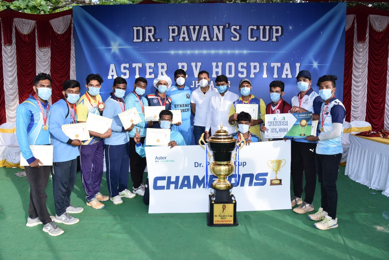 Aster RV Hospital conducts inter-hospital cricket tournament for organ donation awareness