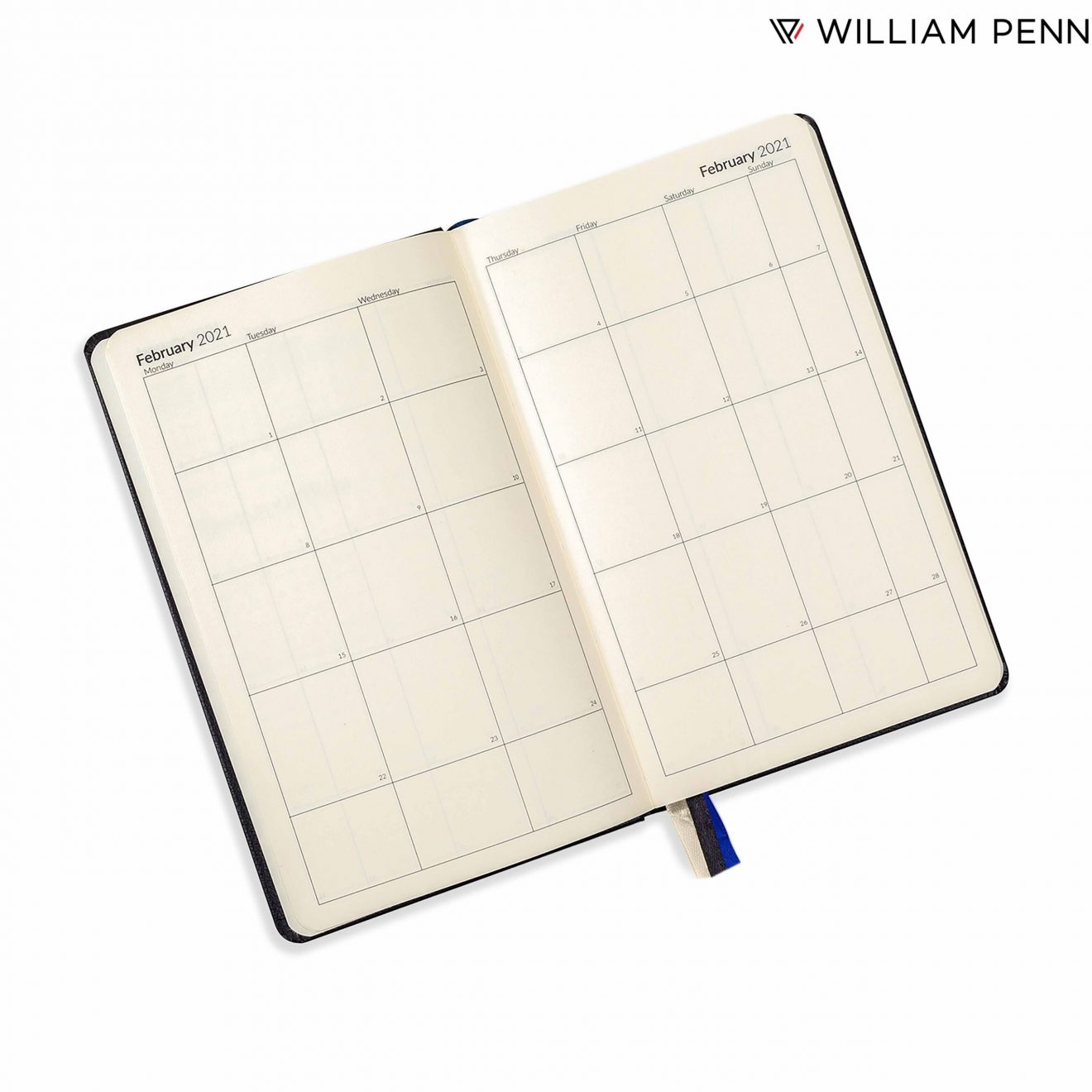 Pennline Calendar and Financial year planner by William Penn