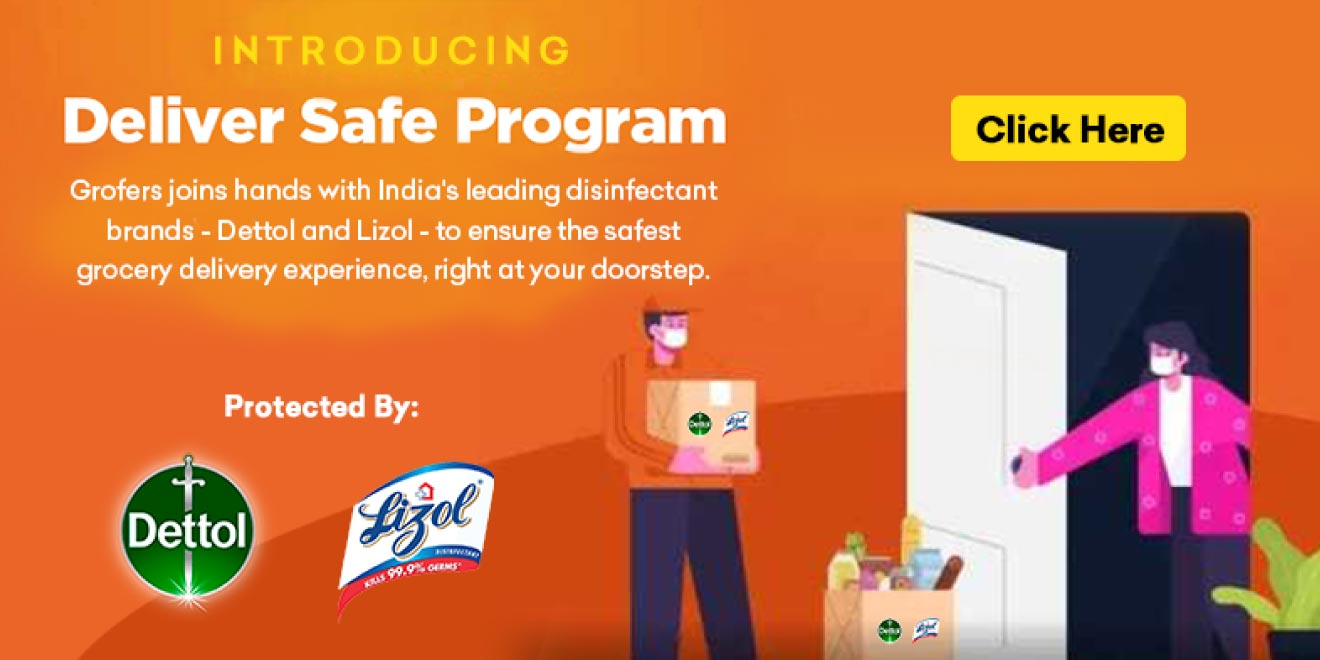 Grofers collaborates with Reckitt Benckiser to launch 'Deliver safe programme'