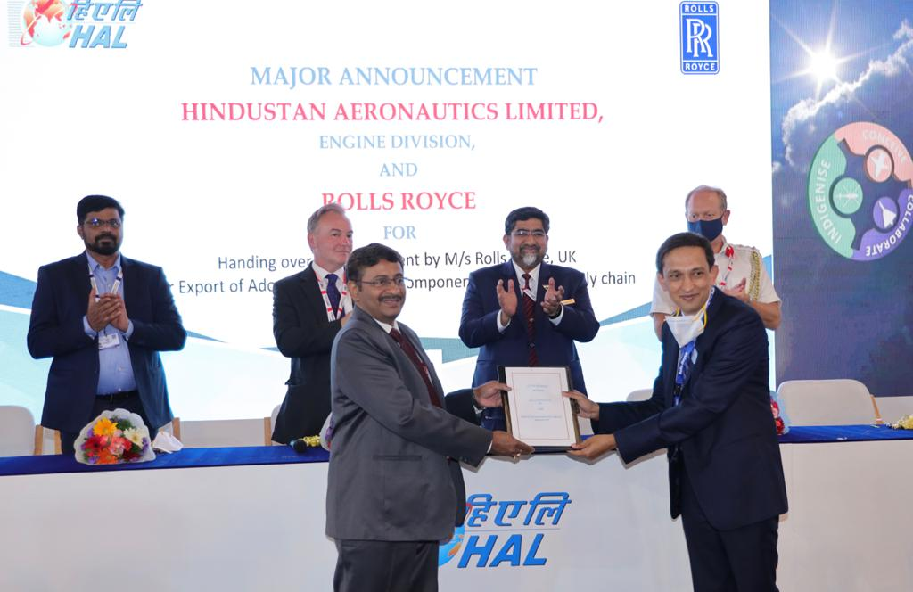 Rolls-Royce and HAL expand partnership with MRO