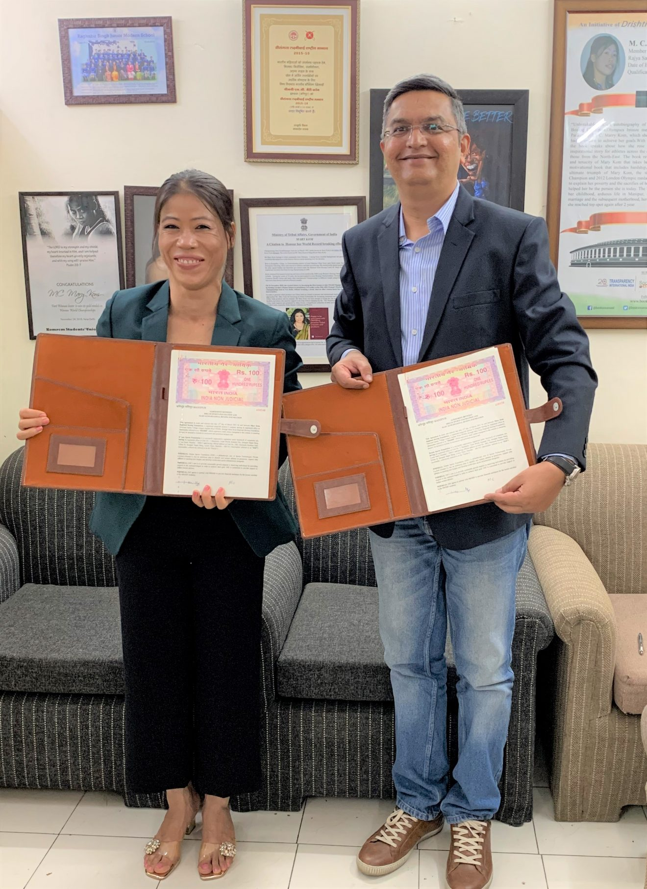 Dream Sports Foundation partners with Mary Kom Regional Boxing Foundation to support female boxers