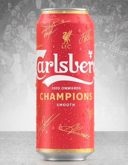 Carlsberg celebrates the love for Red with Liverpool Cans