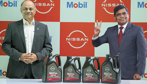 Nissan India and ExxonMobil join hands to supply lubricants