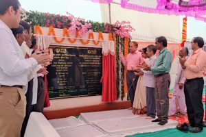 Dr. Ramesh Pokhriyal 'Nishank' lays the Foundation Stone of IGNOU Regional Center Building