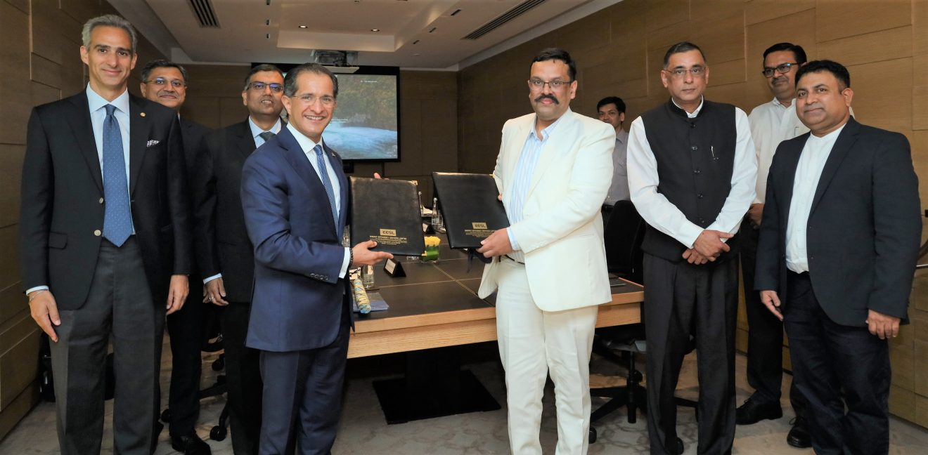 The Oberoi Group signs MoU with EESL to further its sustainability initiatives