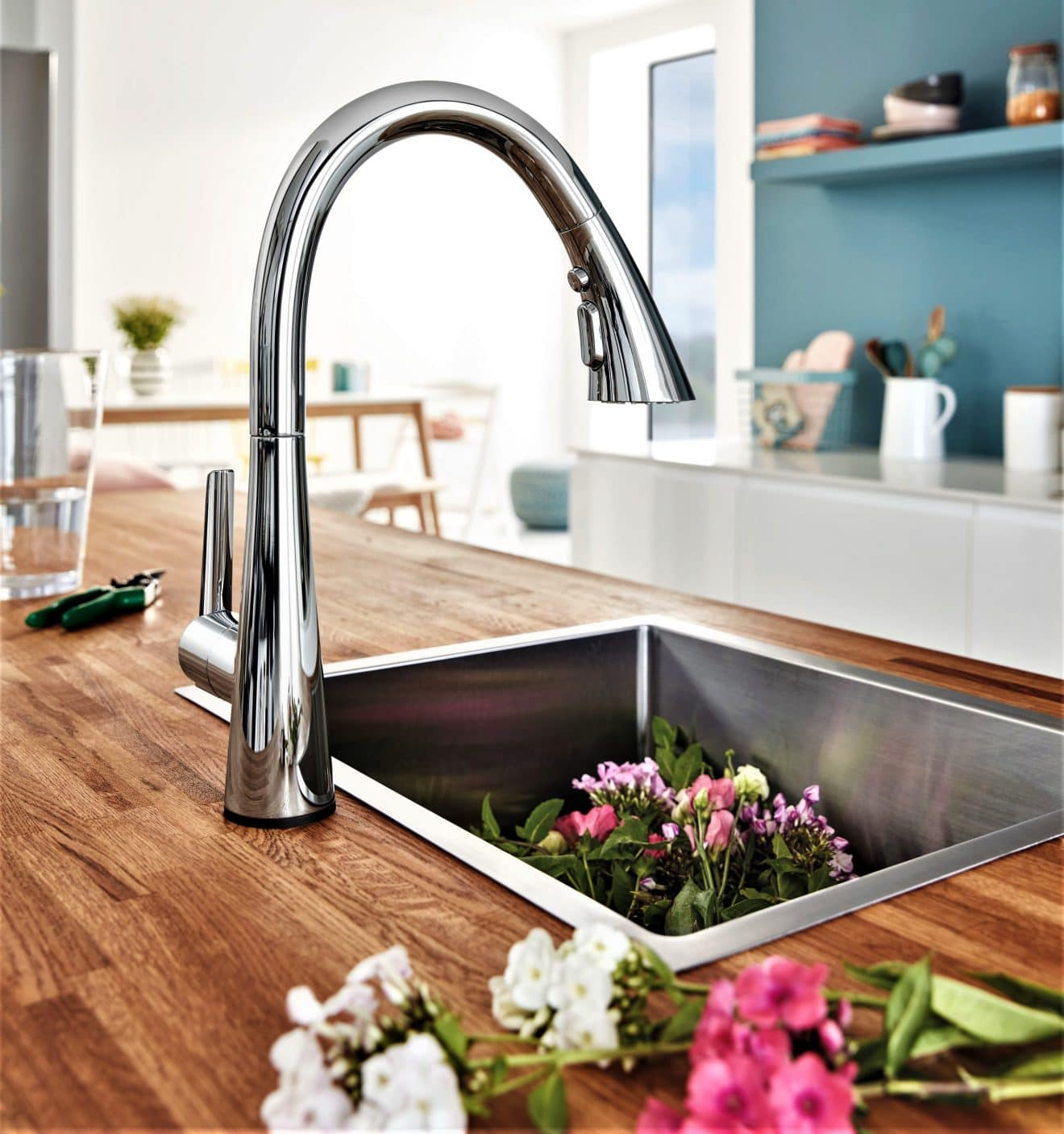 Zedra Kitchen Faucet by GROHE