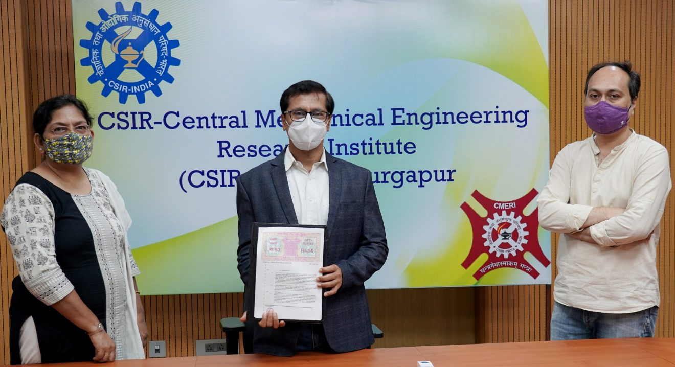 CSIR-CMERI transfers the technology to companies' to ramp up the production of Oxygen Enrichment Unit