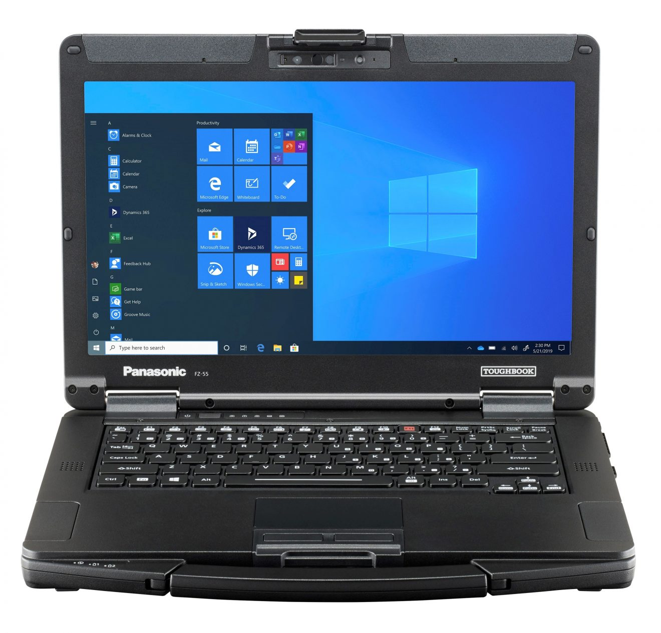 Panasonic launches the most versatile semi-rugged notebook