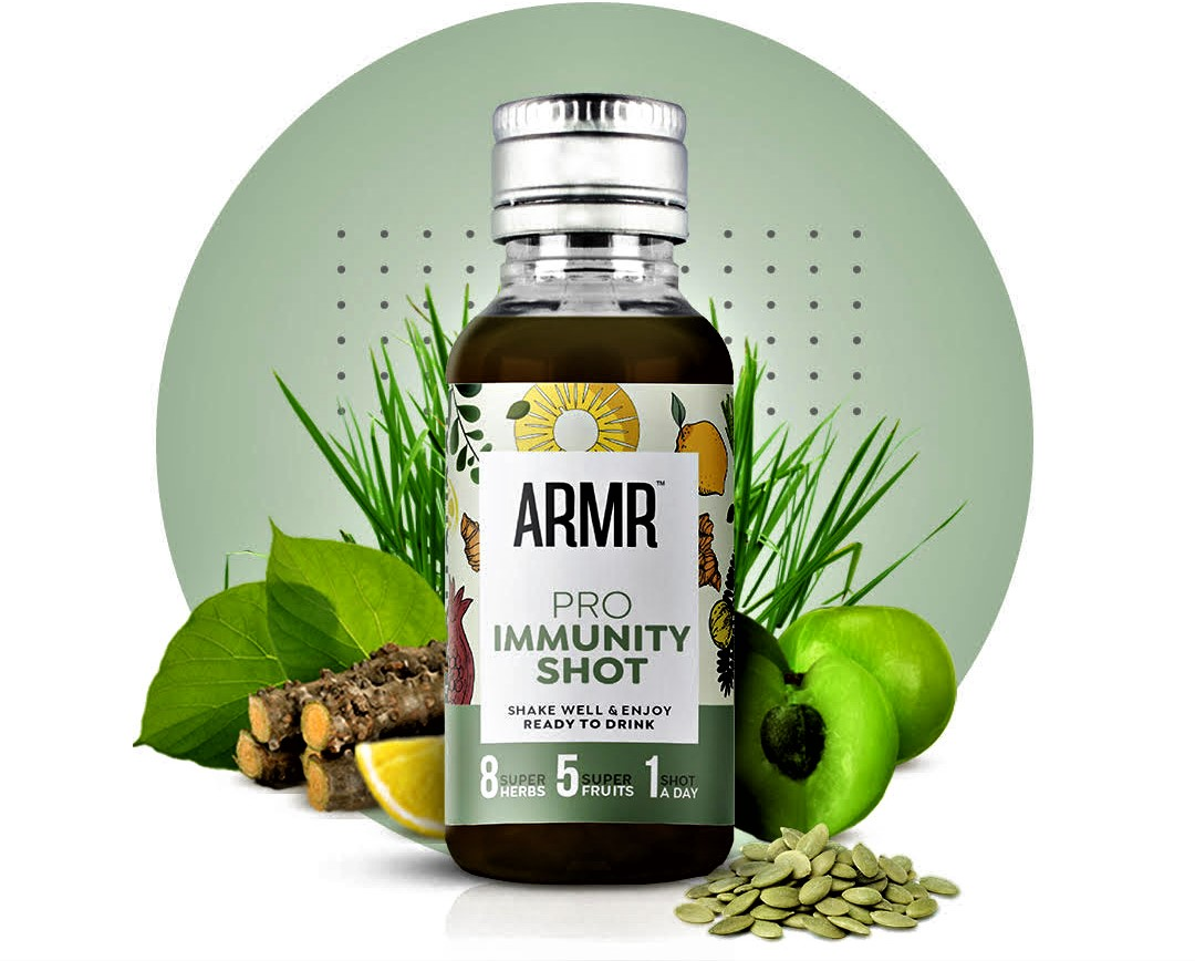 Boost and prioritise your health with ARMR's  Pro Immunity Shots