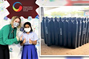 Global Schools Foundation contributes 500 oxygen concentrators to Covid-relief in India
