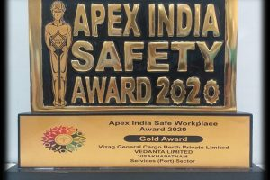 Vedanta's VGCB bags Gold Award for safe workplace management