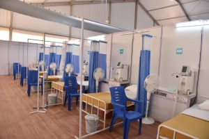 150-Bed Dedicated Oxygen Centre COV-AID@BLR Goes Live
