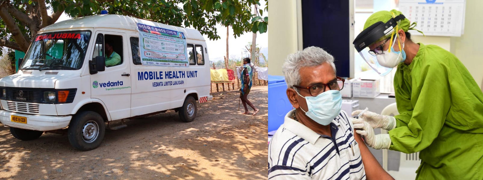 People vaccinated by Vedanta at its plants in Odisha and Chhattisgarh