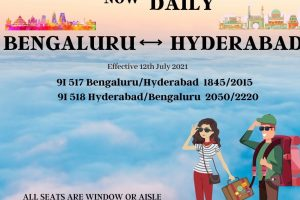 Alliance Air announces direct flight operations from Bengaluru to Hyderabad