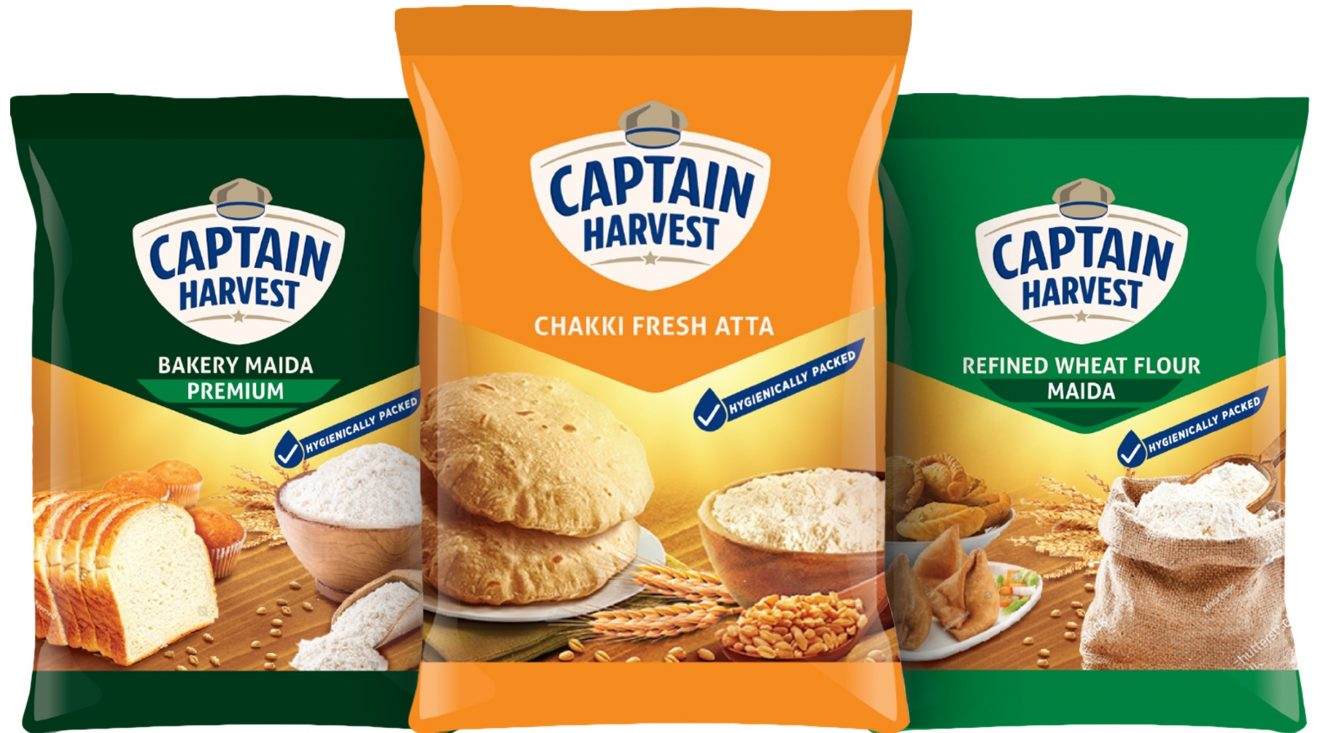 Captain Harvest range of quality & affordable staples now available exclusively on udaan
