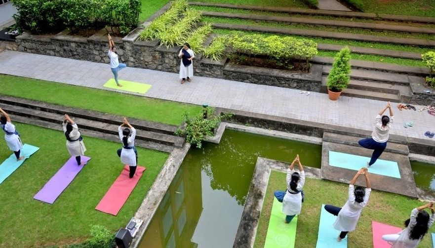 International Day of Yoga Celebrated by the Department of Biotechnology