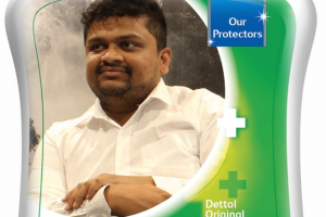 Covid Protectors replace Dettol's iconic logo on 4 million packs
