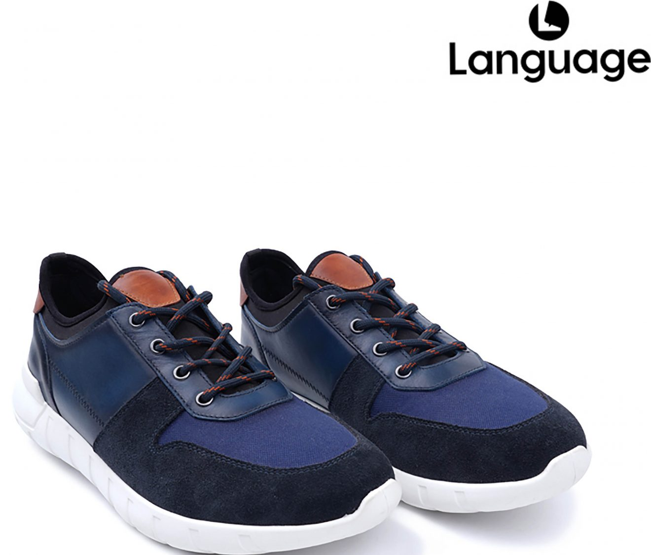 Leather Sneakers from Language Shoes