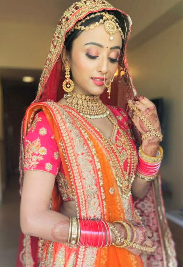 A wedding outfit has it's challenges: Monika Chauhan