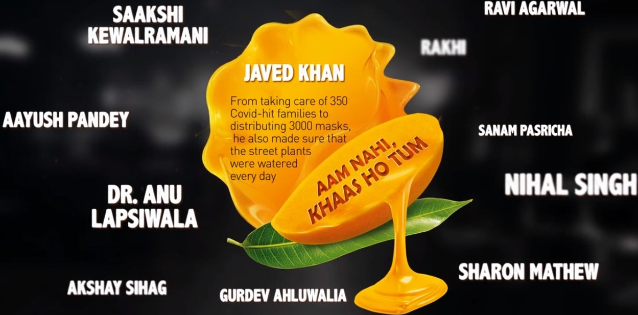 SLICE® PAYS TRIBUTE TO INDIA'S UNSUNG COVID HEROES THROUGH NEW 'AAM NAHI KHAAS HO TUM' INITIATIVE