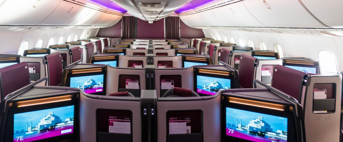 Qatar Airways Introduces New Generation Boeing 787-9 Dreamliner Featuring a New Business Class Suite