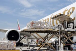 Emirates transports 100 tonnes of COVID-19 relief cargo free of charge to India in May 2021