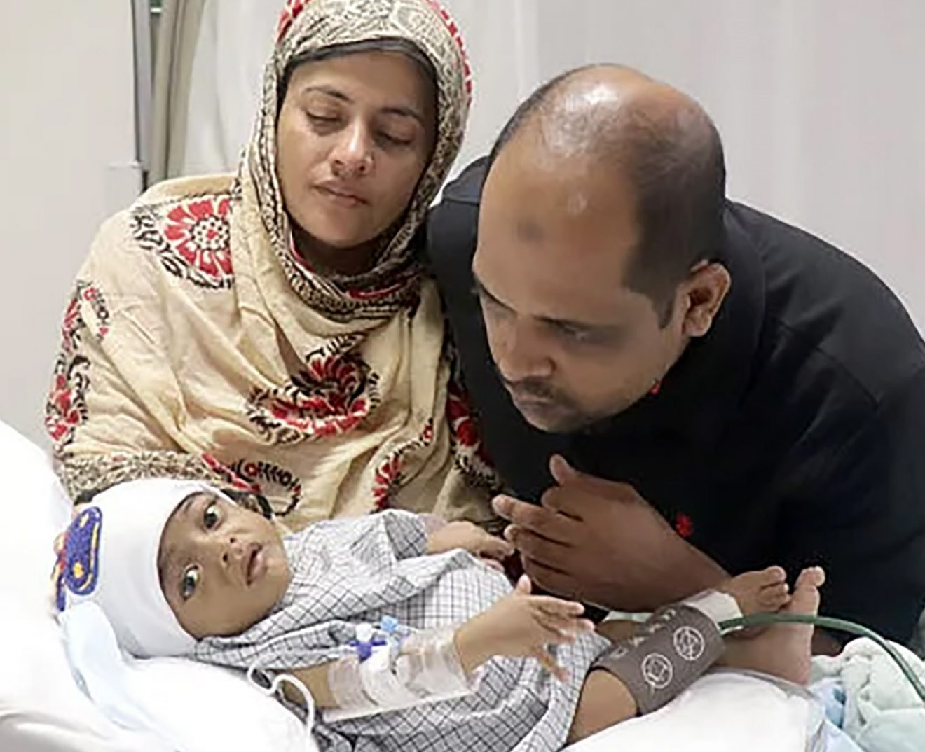7-month old baby Abdullah suffering from Biliary Atresia breathes into a new life