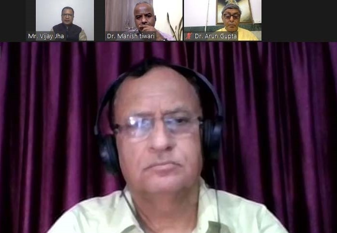 A webinar was organized on 'Challenge of Child Obesity and Packaged Food during Covid pandemic in India