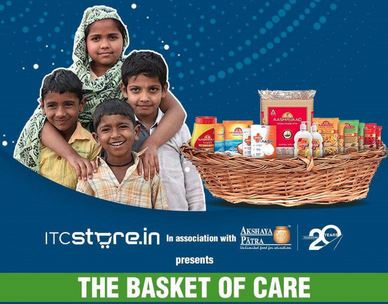ITC store and Akshay Patra urge citizens of India to come forward and support those impacted by the pandemic