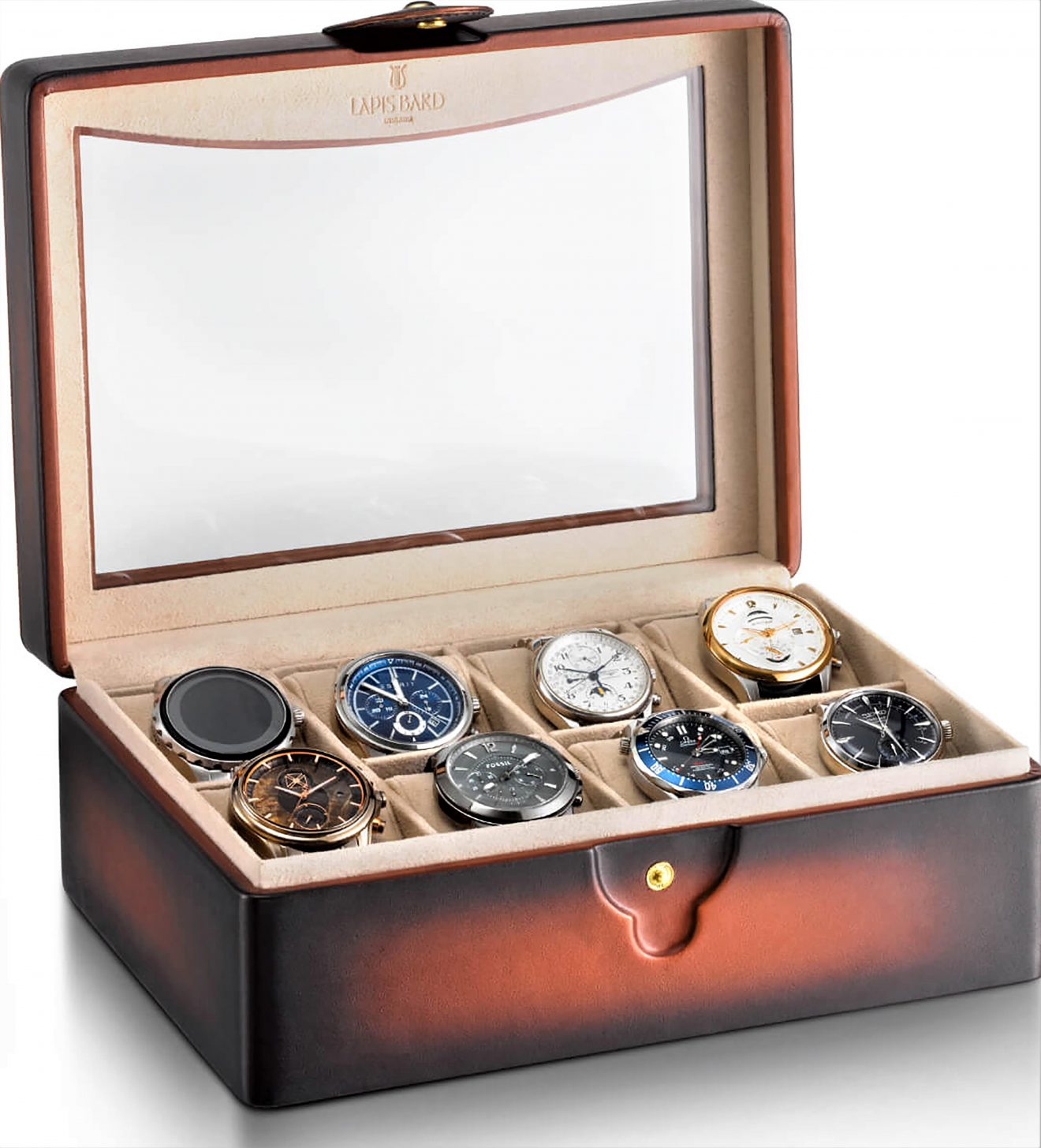A Treasure Chest for your Watches and Pens - Lapis Bard